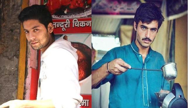 India's Biryaniwala Majid Khan and pakistani chaiwala