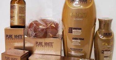 Pure White Gold Cream