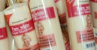 Pure White Super Maxitone Lotion
