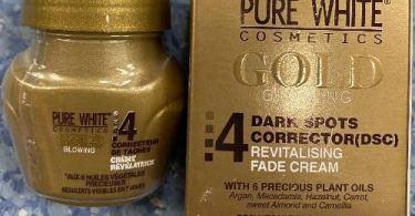 Pure White Gold Face Cream
