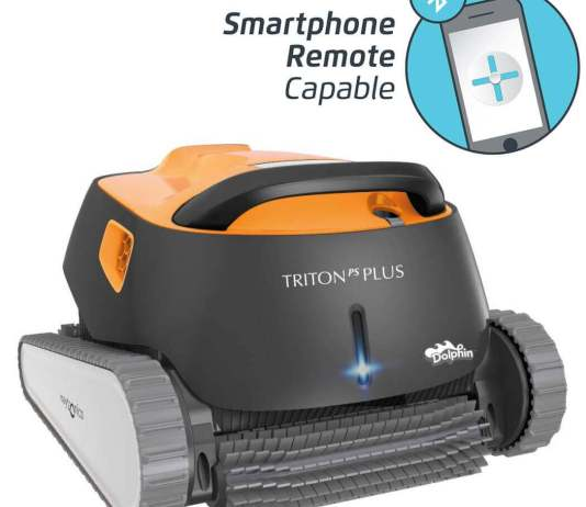 Dolphin Triton Plus Robotic Pool Cleaner with PowerStream
