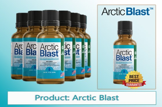 Arctic Blast pain relieving drops (With DMSO) - What is it actually?