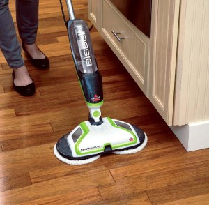 best floor scrubbers bissell spinwave 2039a image