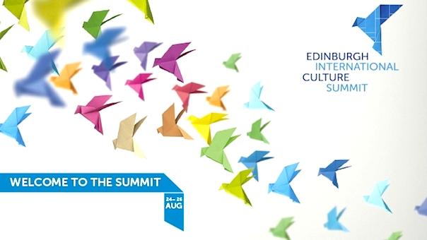 EDINBURGH INTERNATIONAL CULTURE SUMMIT - FINAL SPEAKERS ANNOUNCED