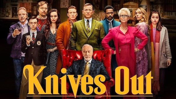 Image result for knives out poster""