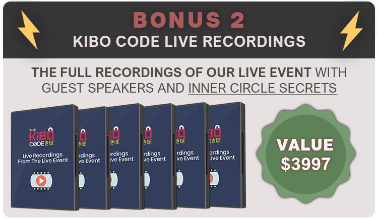 The Kibo Code Bonus