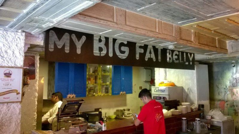 My Big Fat Belly Best Pizza In Kolkata
