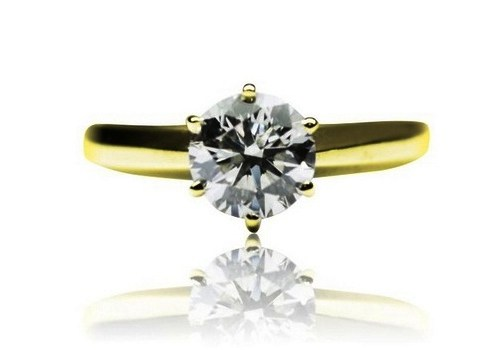 Buy 5.00 Ct. Round Diamond Solitaire Engagement Ring D, I
