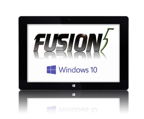 Fusion5 Windows 10 Tablet 10 inch Ultra Slim Design Microsoft Windows Tablet PC, 32GB Storage, 2GB RAM, Complete with Touch Screen, Dual Camera, Bluetooth Tablet PC