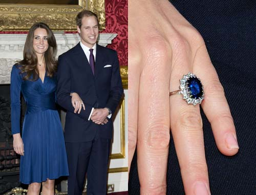 Prince William and Kate Middleton Engagement Ring