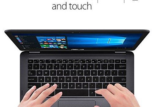 2016 ASUS ZenBook Flip UX360CA-DBM2T 13.3 inch Touchscreen Tablet Laptop, Intel Core M CPU, 8GB RAM, 512GB Solid State Drive, Windows 10