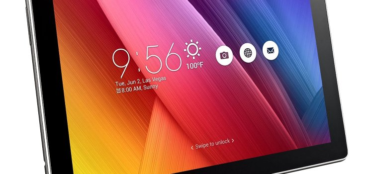 ASUS ZenPad 10 Dark Gray 10.1 inch Android Tablet Z300M, 2MP Front 5MP Rear PixelMaster Camera, WXGA TouchScreen, 16GB Onboard Storage, Quad-Core 1.3GHz Processor, 802.11abgn WiFi