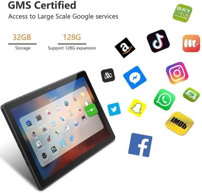 2021 MARVUE M10 Android Tablet, 10.1-inch
