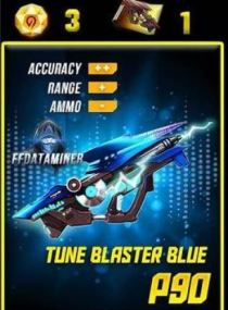 inclubator P90  Blue