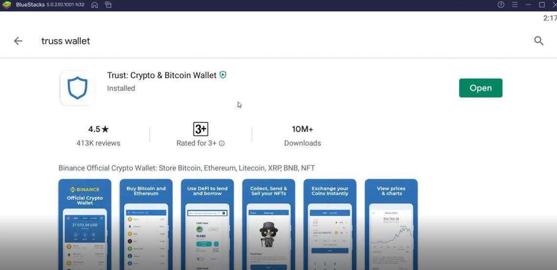 cara menggunakan aplikasi truss wallet di pc