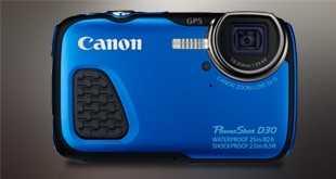 Canon Powershot D 30 Underwater Camera Review
