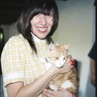 Karen O With A Cat