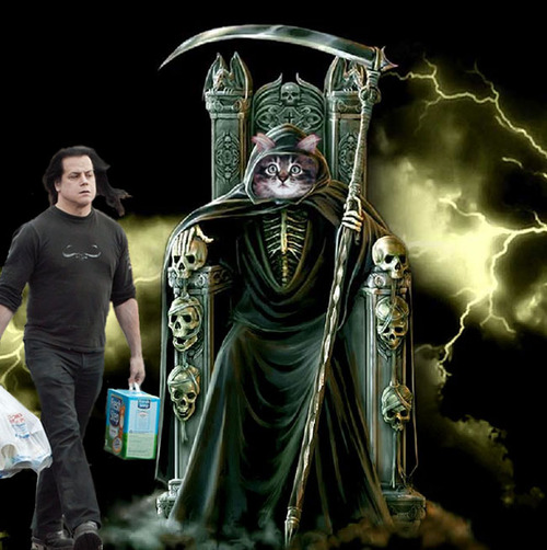 Glenn Danzig With A Cat II
