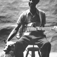 Hound Dog Taylor With A Dog