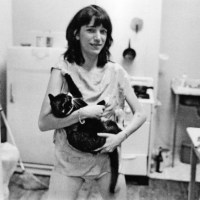 Patti Smith With A Cat
