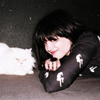 Alison Mosshart With A Cat