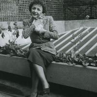 Music Legends With Cats: Edith Piaf