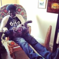 Music Legends With Cats: Charles Bradley