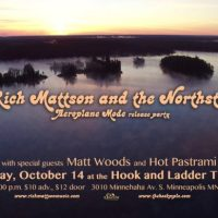 Show Preview: Rich Mattson & the Northstars CD release at Hook & Ladder (Release show Saturday!)