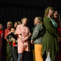 Photos: Anonymous Choir at Moon Palace Books