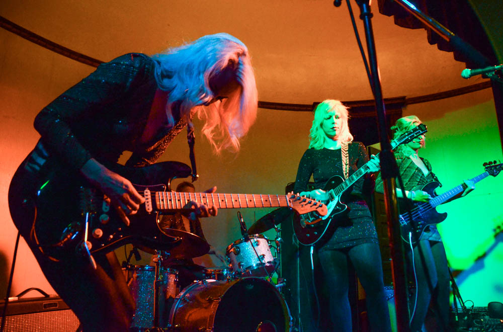 Photos: Green/Blue | Black Widows at the PNA Hall