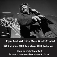 Upper Midwest B/W Music Photo Contest