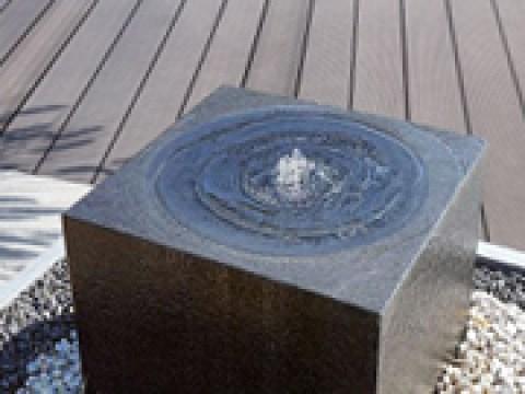 gartenbrunnen modernes design edelstahl-gartenbrunnen und granitbrunnen online-shop - revisage