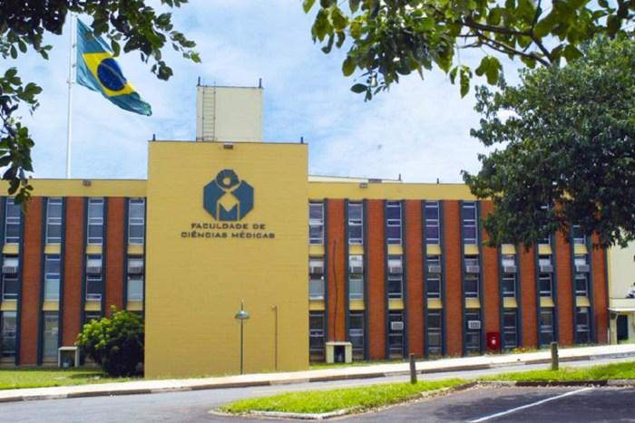 prédio da faculdades de ciências médicas da Unicamp