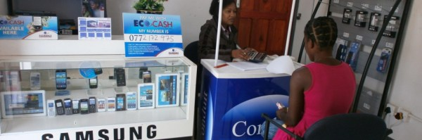 A Sole Trader running an Econet Products Shop