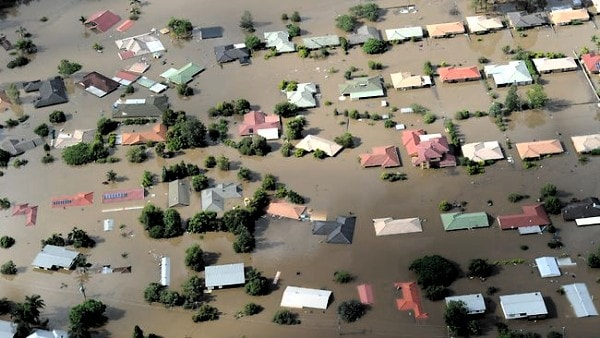 Floods are just one of many natural weather hazards. Image by The Australian.