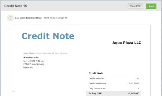 Credit note and debit note free zimsec revision notes and past a credit note image credit debitoor altavistaventures Image collections