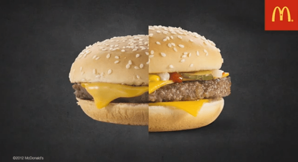 Persuasive Advertisement. Image credit McDonalds.
