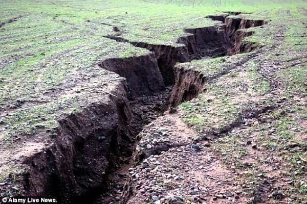 A gulley. Image credit dailymail.co.uk