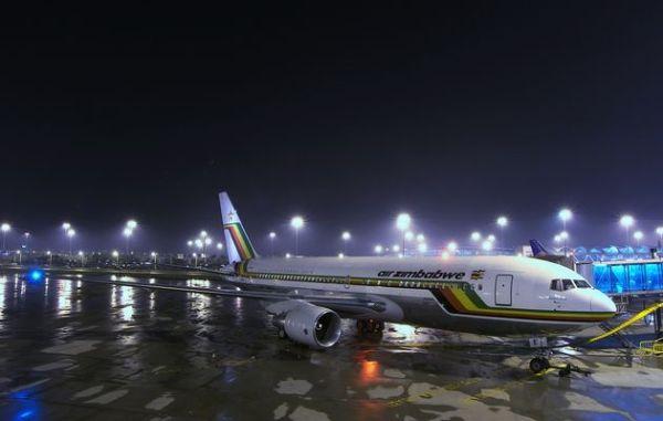 Harare International Airport at night. Image credit halbeegnews.net