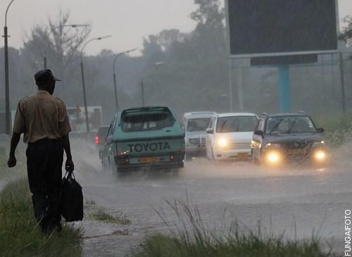 Urbanisation leads to increased overland flow. Image credit zimbojam.com