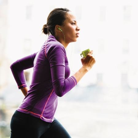 A jogger needs energy which is yielded during respiration. Image credit diabetisforecast.org