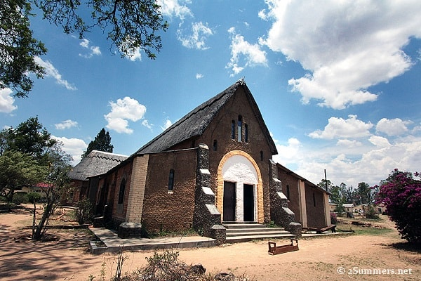 The Church at St Faith Secondary School Rusape was build by the Anglican Church. Image credit 2summers.net