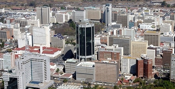 An aerial view of Harare. Image credit Bulawayo24.com
