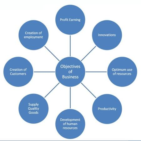 Businesses have objectives. Image credit essaywow.com
