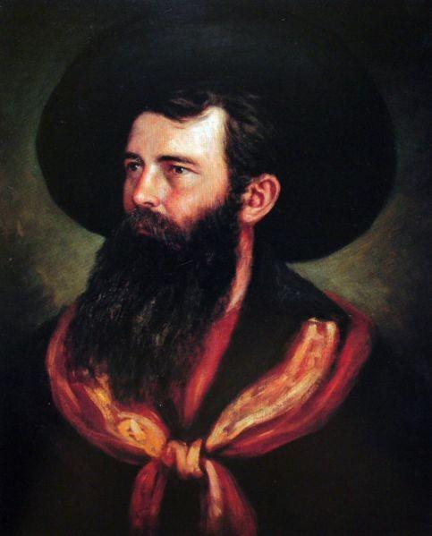 The British Explorer Thomas Baines who signed the Baines concession. Image credit artexpertwebsite.com