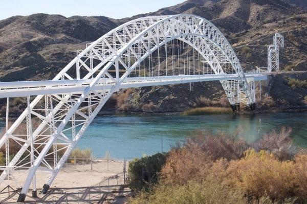 An arch bridge