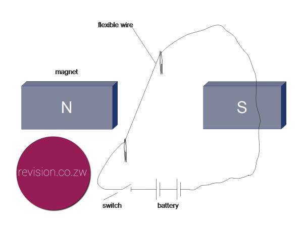 Demonstrating the motor effect