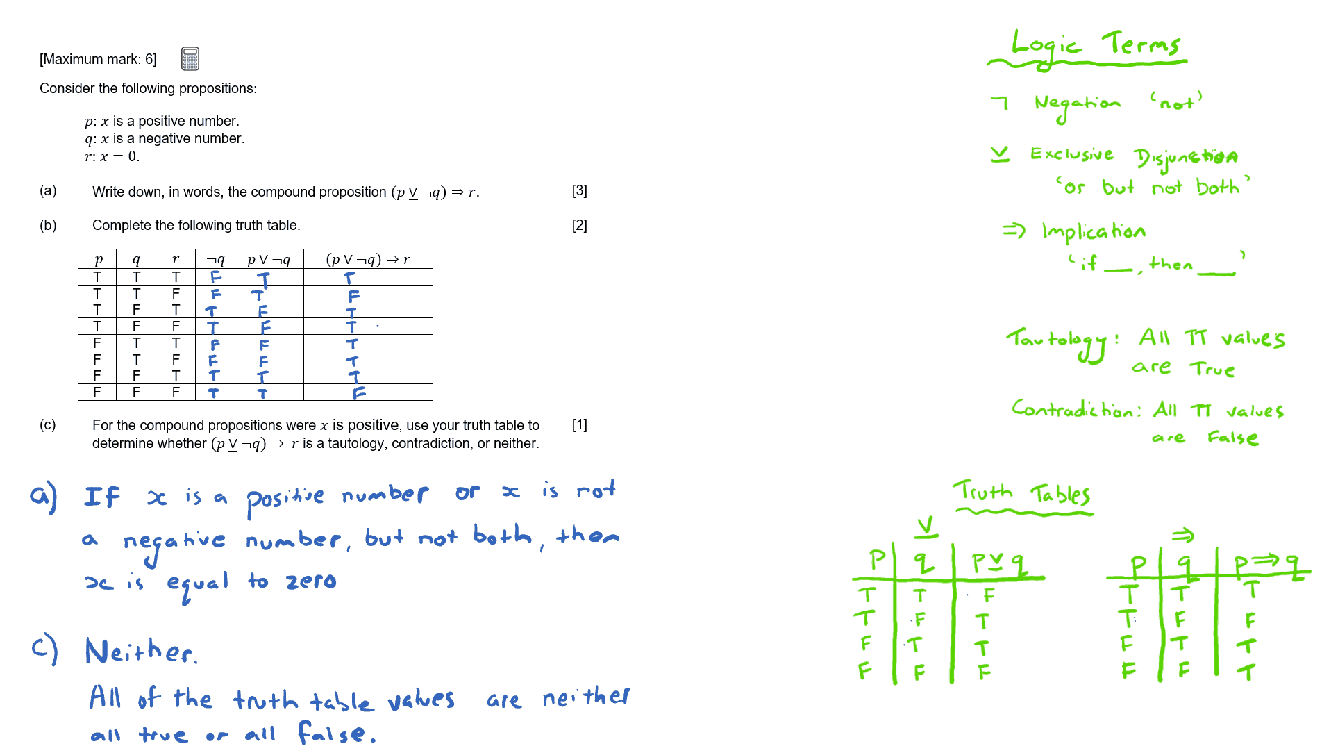 Ib Maths Stu S Revision Videos Logic Sets Probability