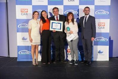 Los premiados de la red TopCar fueron Paintdrive, Auto Sesimbra y Auto Líder