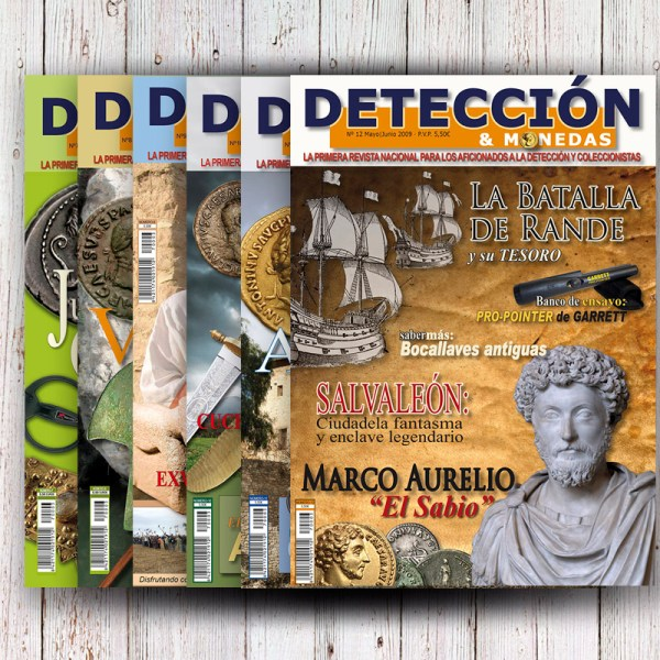 Pack Revista DM Año 2